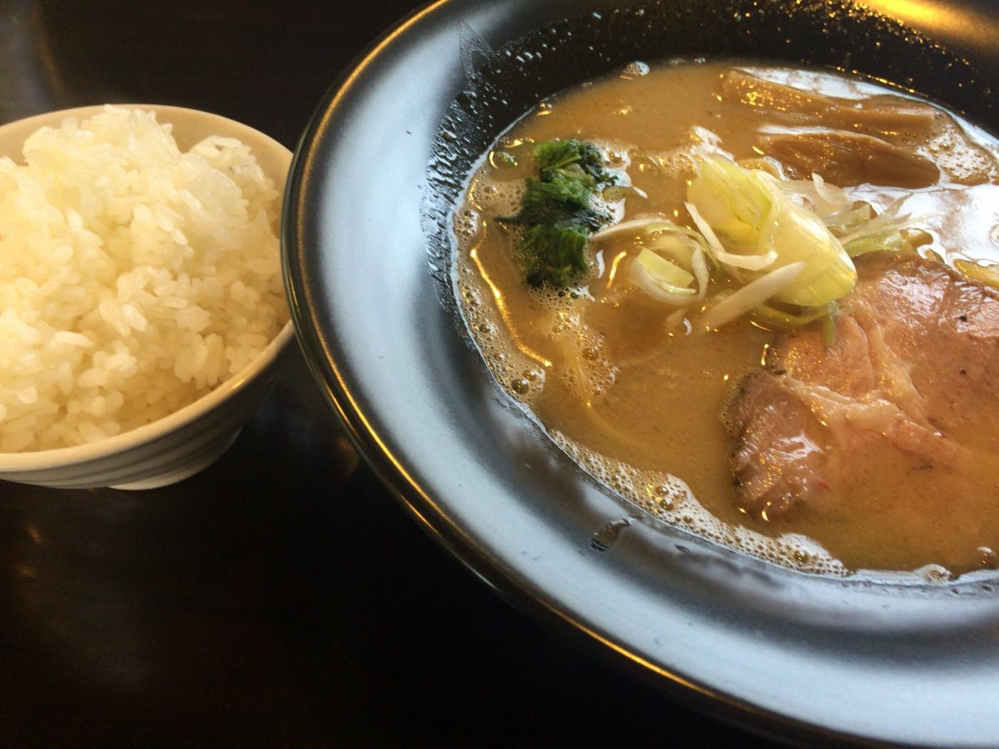 鶏っぷ - 煮干白湯醤油