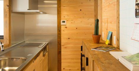 鯖江モデルハウスのキッチン1/かたり家(有限会社ホームクリーン福井)