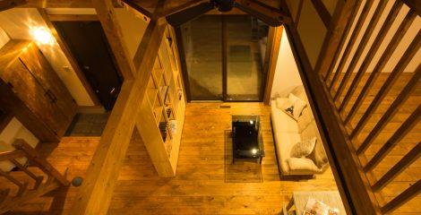鯖江モデルハウスの吹き抜け23/かたり家(有限会社ホームクリーン福井)