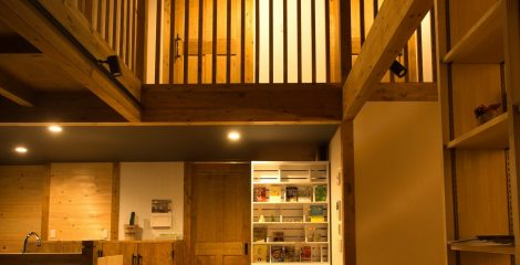 鯖江モデルハウスの吹き抜け12/かたり家(有限会社ホームクリーン福井)