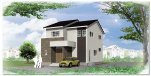 構造用集成材+ピン工法を標準装備した安心安全の角地の家