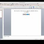 角2封筒印刷用テンプレート(パワーポイントデータ)