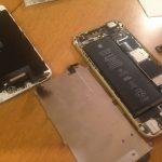 iPhoneのガラスが割れたので、自分で修理してみた結果、、