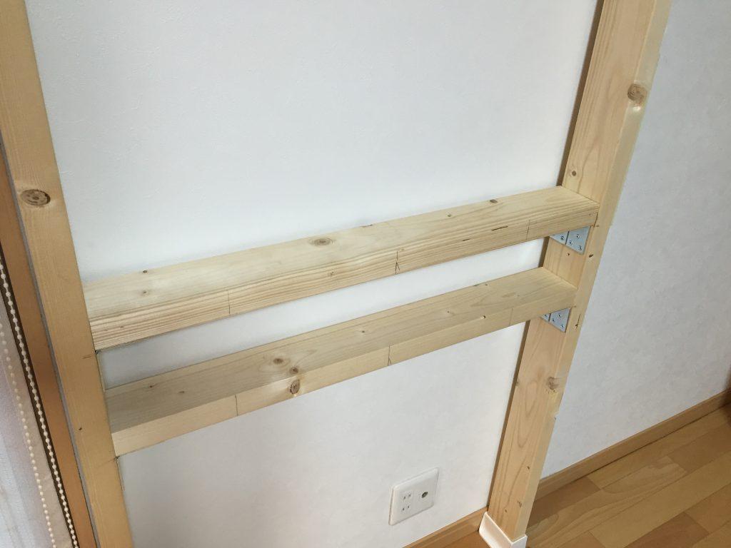 壁掛け用木材