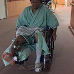 【一寸先は闇:part.2】右足首関節ずれて折れた体験記【入院篇】